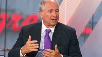 "Steve Schwarzman, CEO of Blackstone Group on CNBC's ""Squawk Box."""