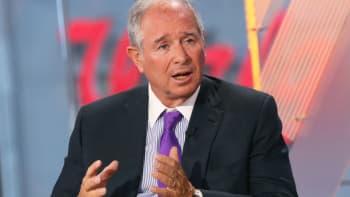 "Steve Schwarzman, CEO of Blackstone Group on CNBC's ""Squawk Box."""