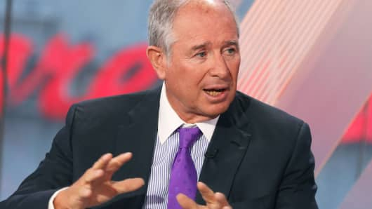 Steve Schwarzman, CEO of Blackstone Group.