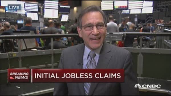 Initial jobless claims up 3K to 241,000