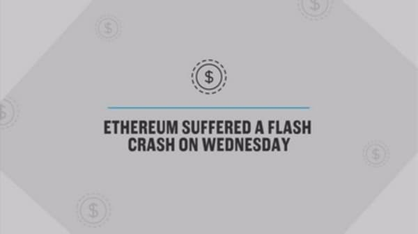 Ethereum crashed from $319 to 10 cents in seconds on one exchange after 'multimillion dollar' trade