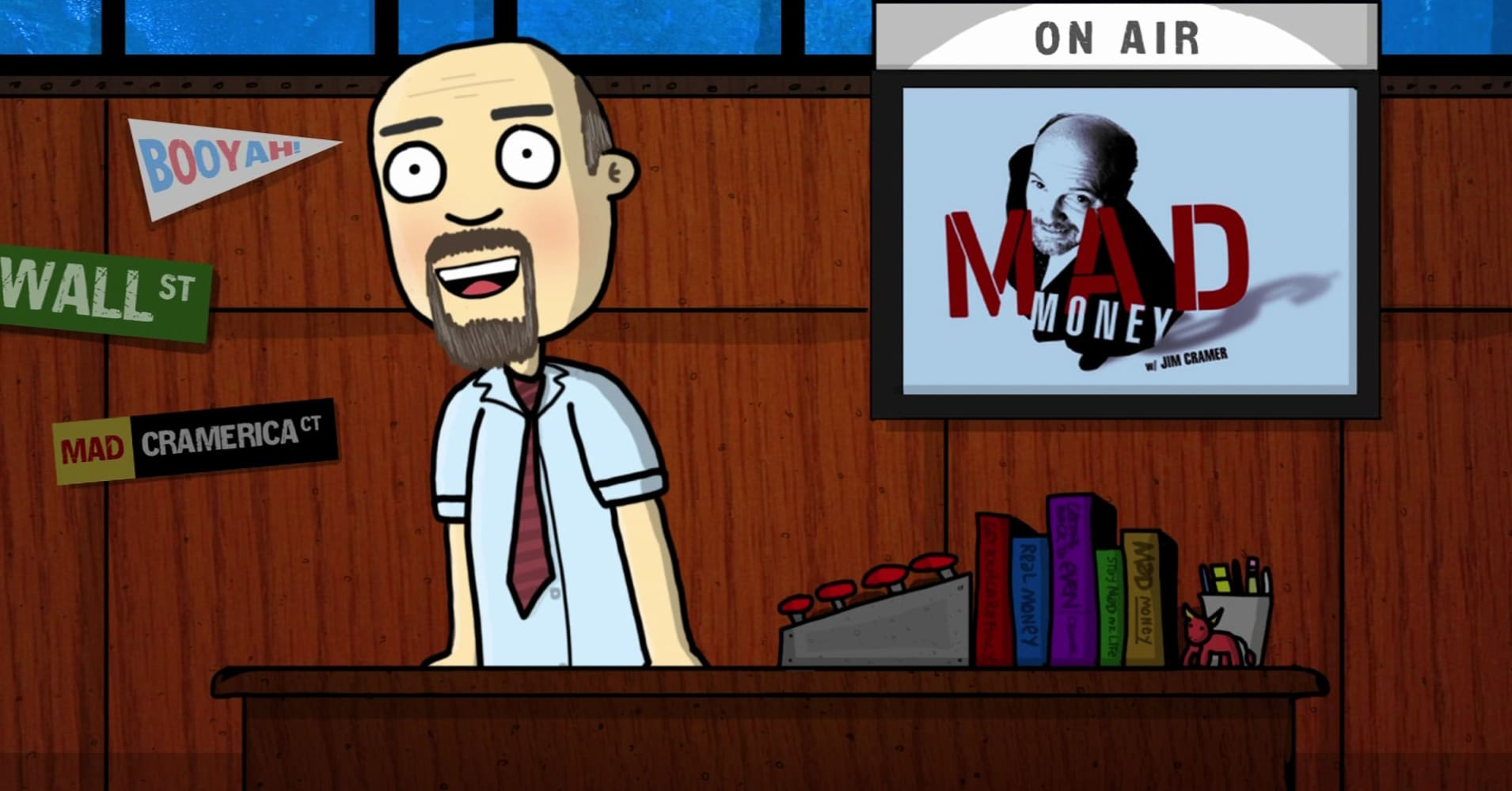 Watch Cramer as a real-time cartoon, and why it made him a believer in Adobe stock