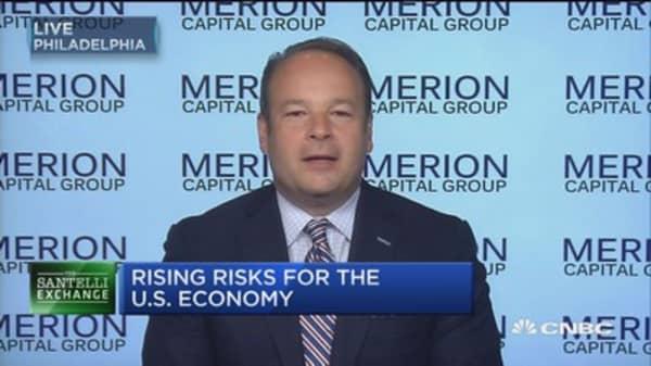 Santelli Exchange: Rising risks for the U.S. economy