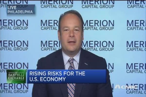 Santelli Exchange: Rising risks for the U.S. economy