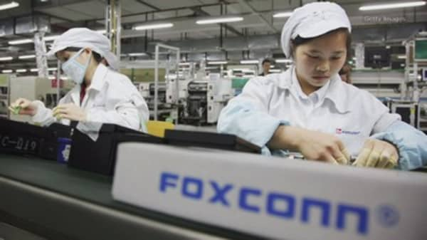 Foxconn plans US display making plant for over $10 billion, scouting for location