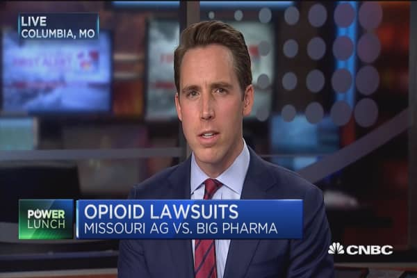 Missouri AG: Fraud and deceit by drug makers led to opioid epidemic