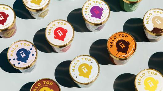 Halo Top Ice Cream.