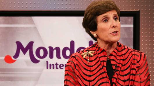 Irene Rosenfeld, CEO of Mondelez.
