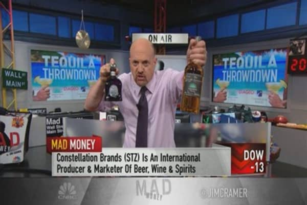 Cramer pours over the top names in tequila