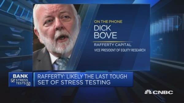 Banks not having difficulty at the moment: Dick Bove