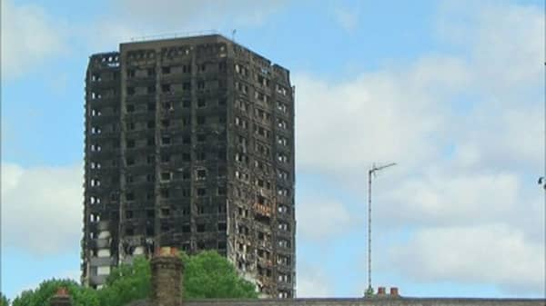 Deadly London tower blaze began in a Hotpoint fridge freezer, police say