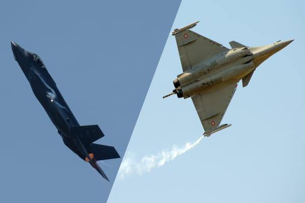 F-35 vs Rafale: The battle for fighter jet supremacy