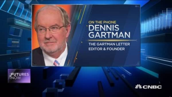 Gartman: Oil is heading 'egregiously' lower