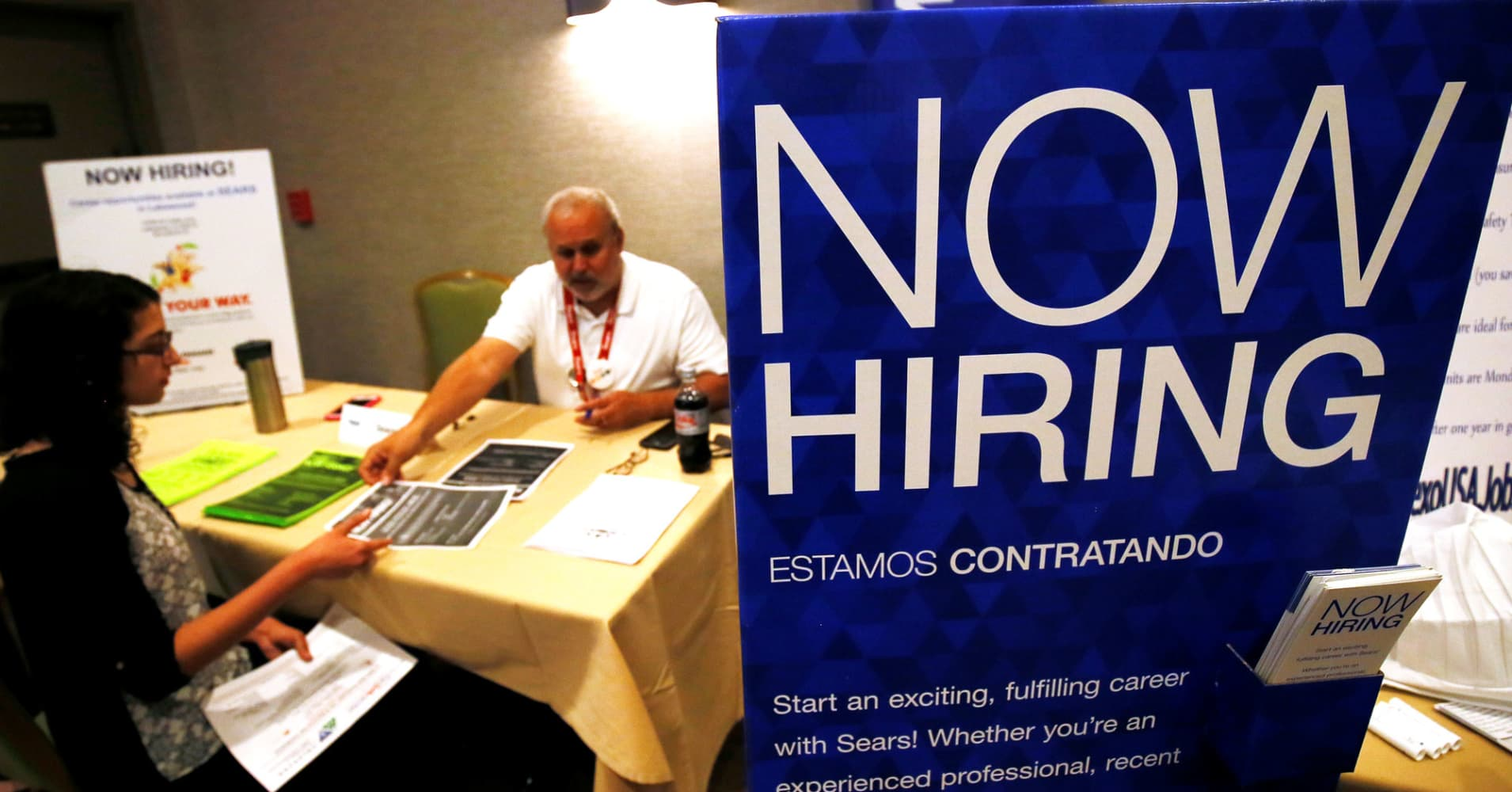 This is a great time to look for a job