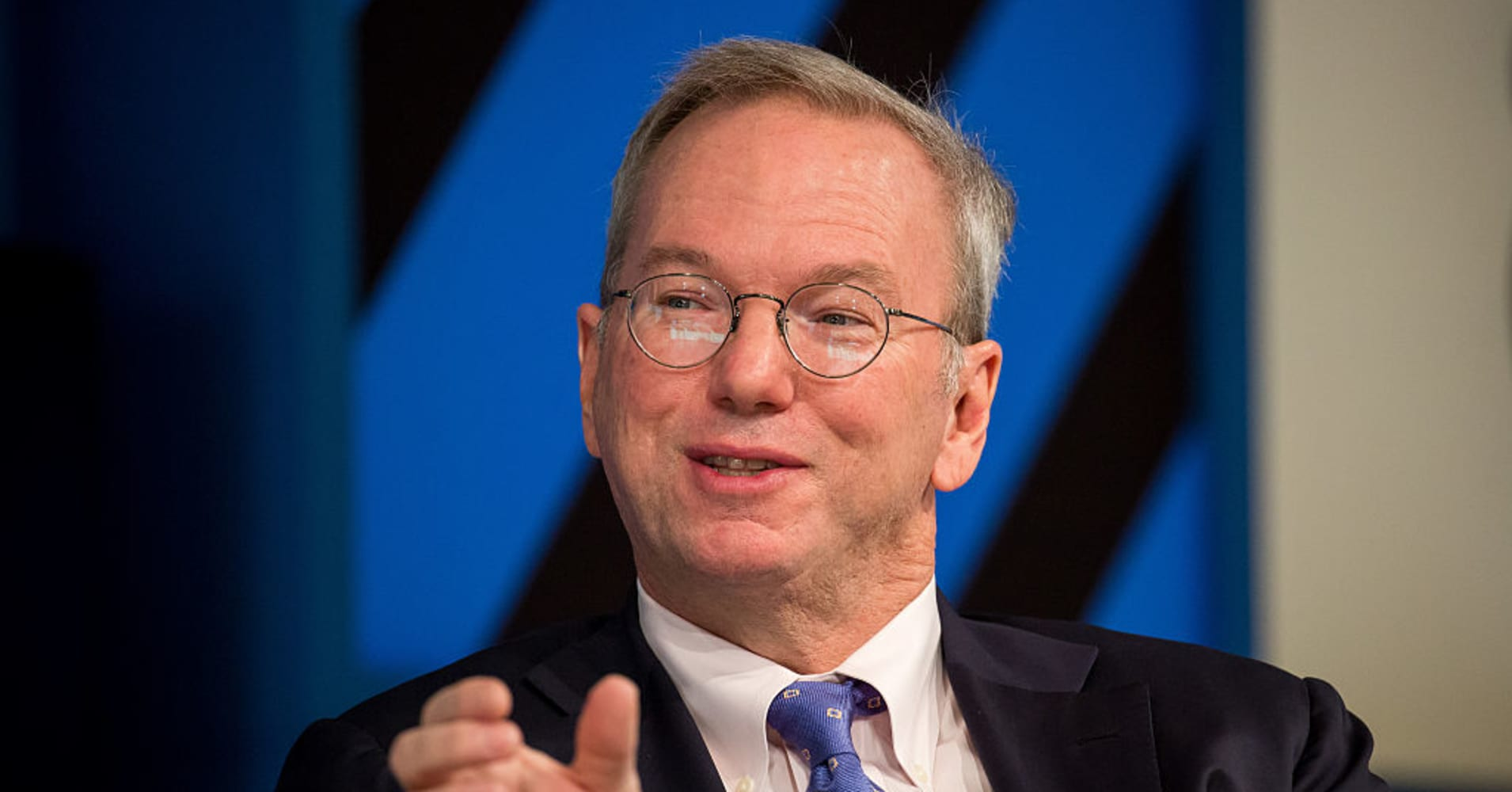 Eric Schmidt, executive chairman of Alphabet, the parent company of Google.