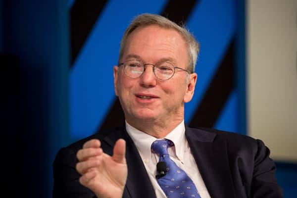Eric Schmidt, executive chairman of Alphabet, the parent company of Google.