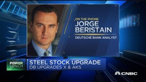 Bold call on steel stocks