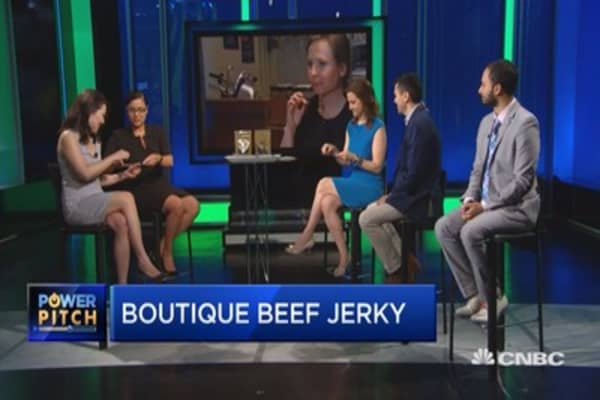High-end beef jerky born from one woman's pregnancy cravings