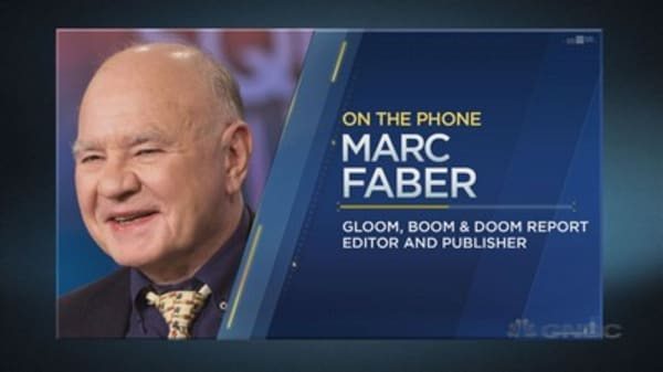 Why Marc 'Dr. Doom' Faber sees an 'epic' decline ahead