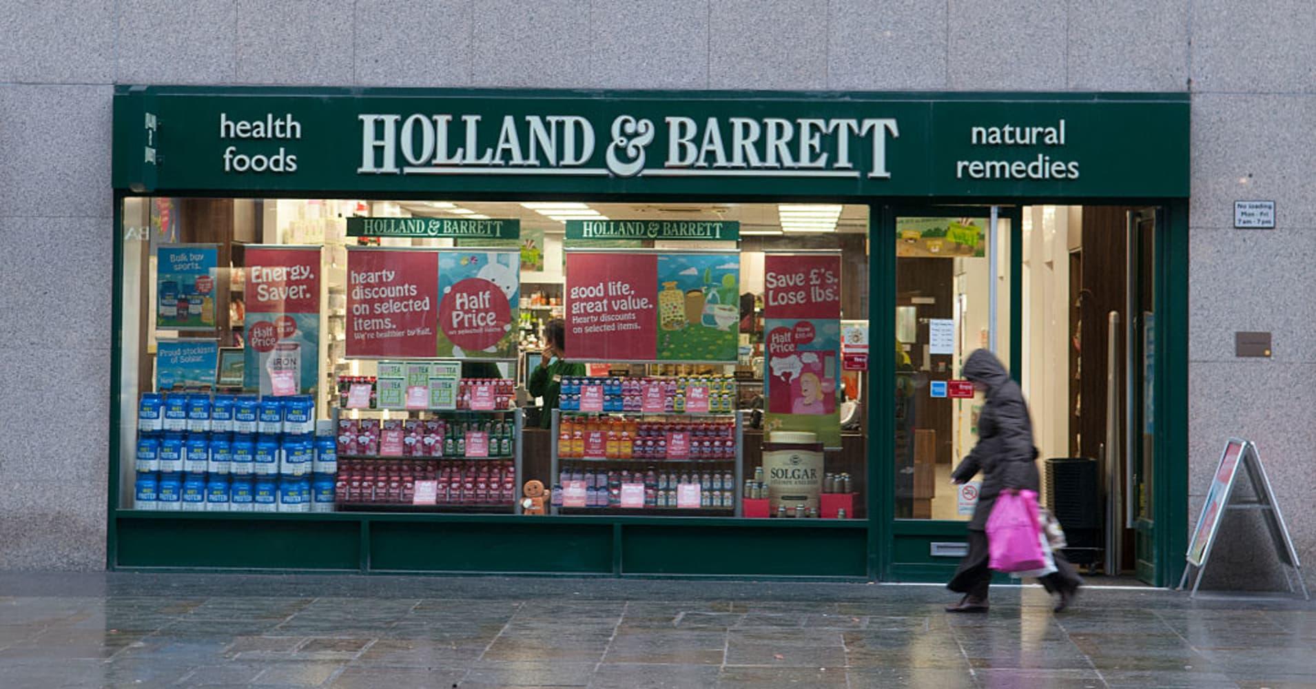 Fridman's L1 Retail to buy Holland & Barrett for around $2.3 billion: Source