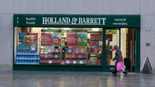 Russian billionaire Mikhail Fridman's fund L1 Retail has agreed to buy health food chain Holland & Barrett for about 1.8 billion pounds, Reuters reported citing an unnamed source.
