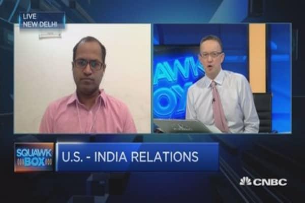 Trump-Modi talks: A 'handshake meeting'