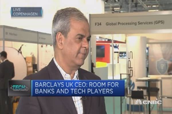 A lot of work going on in blockchain: Barclays UK CEO