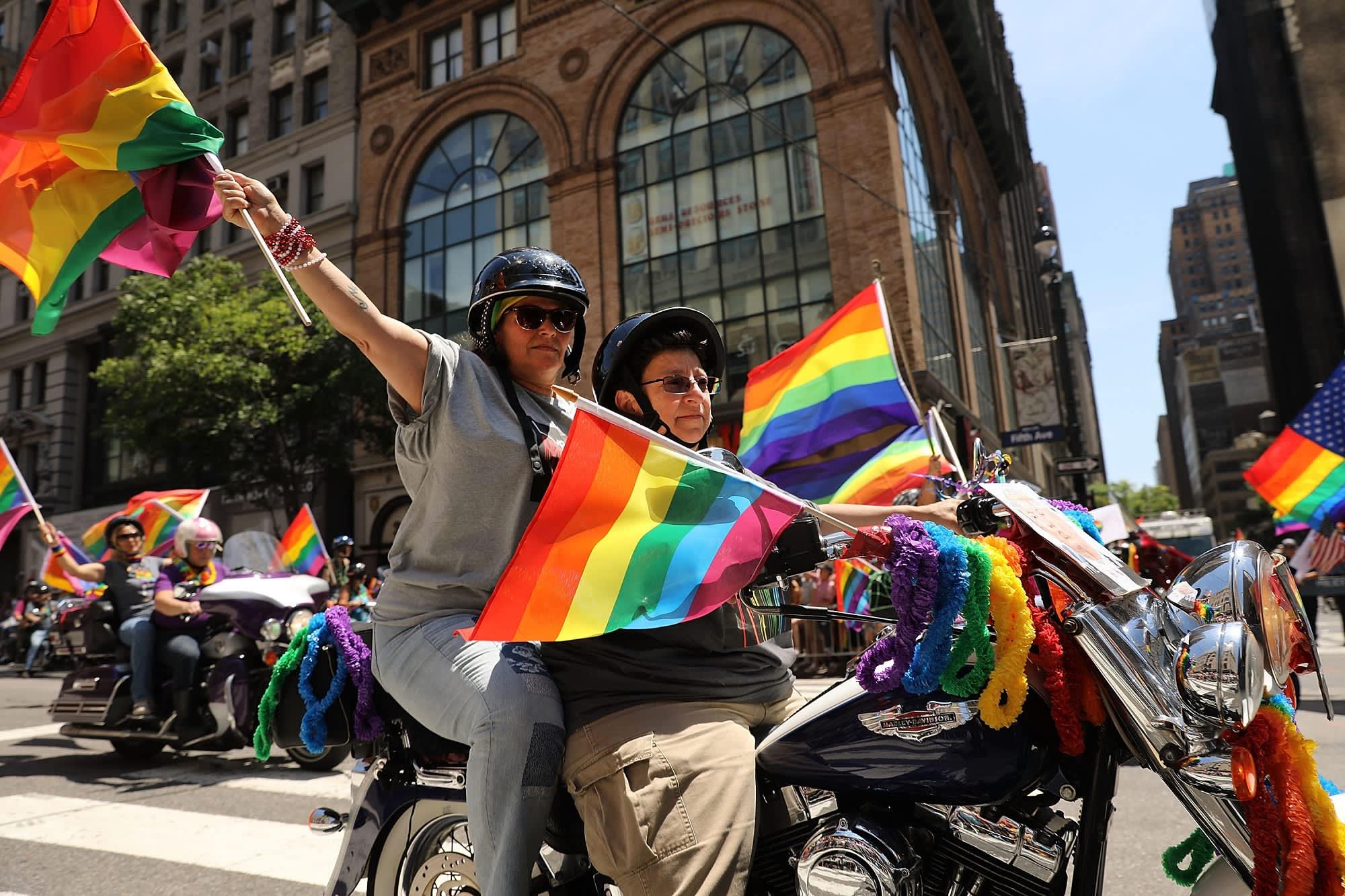 Can gay couples claim their partners on their taxes