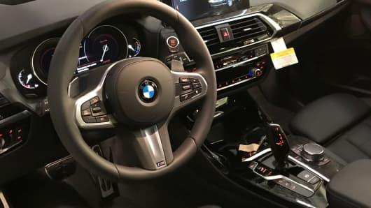 BMW X2 unveiled in South Carolina.