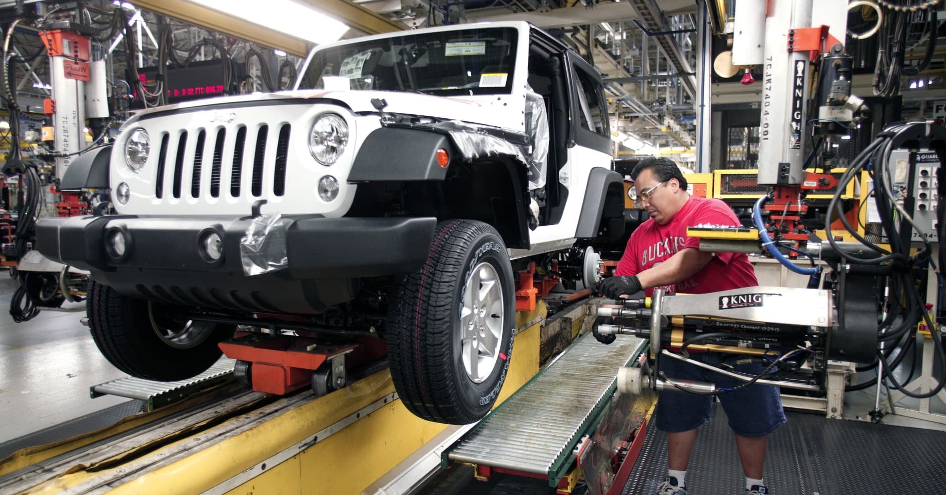 Jeep tops American-made vehicle list, ousting Toyota