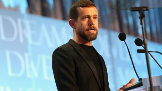 Jack Dorsey is CEO of both Twitter and Square