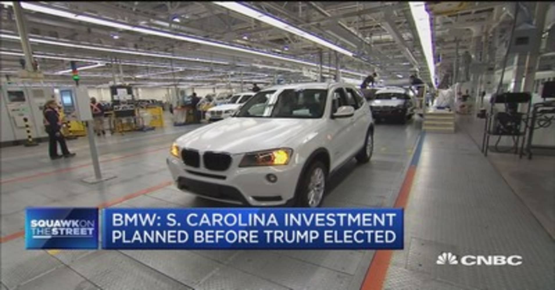 Bmw adding 1 000 jobs at south carolina plant