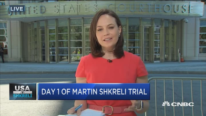 Day 1 of Martin Shkreli trial