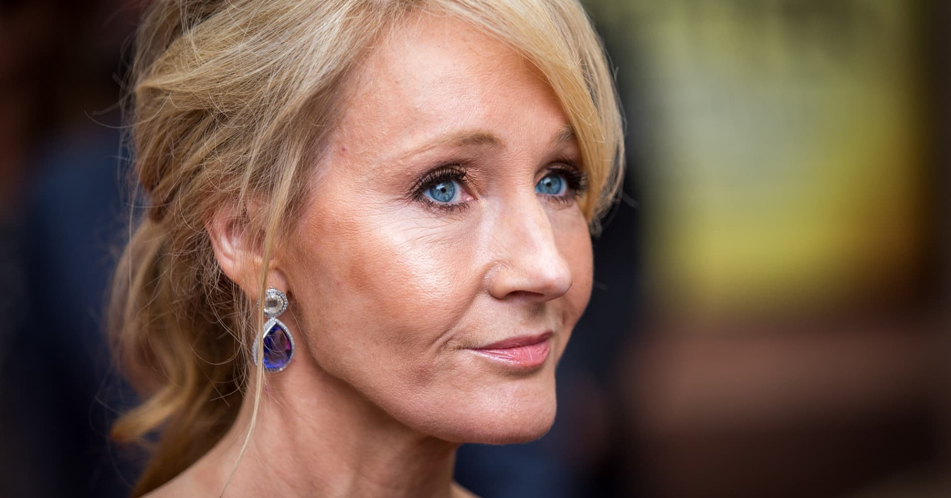 """Harry Potter"" author J.K. Rowling"