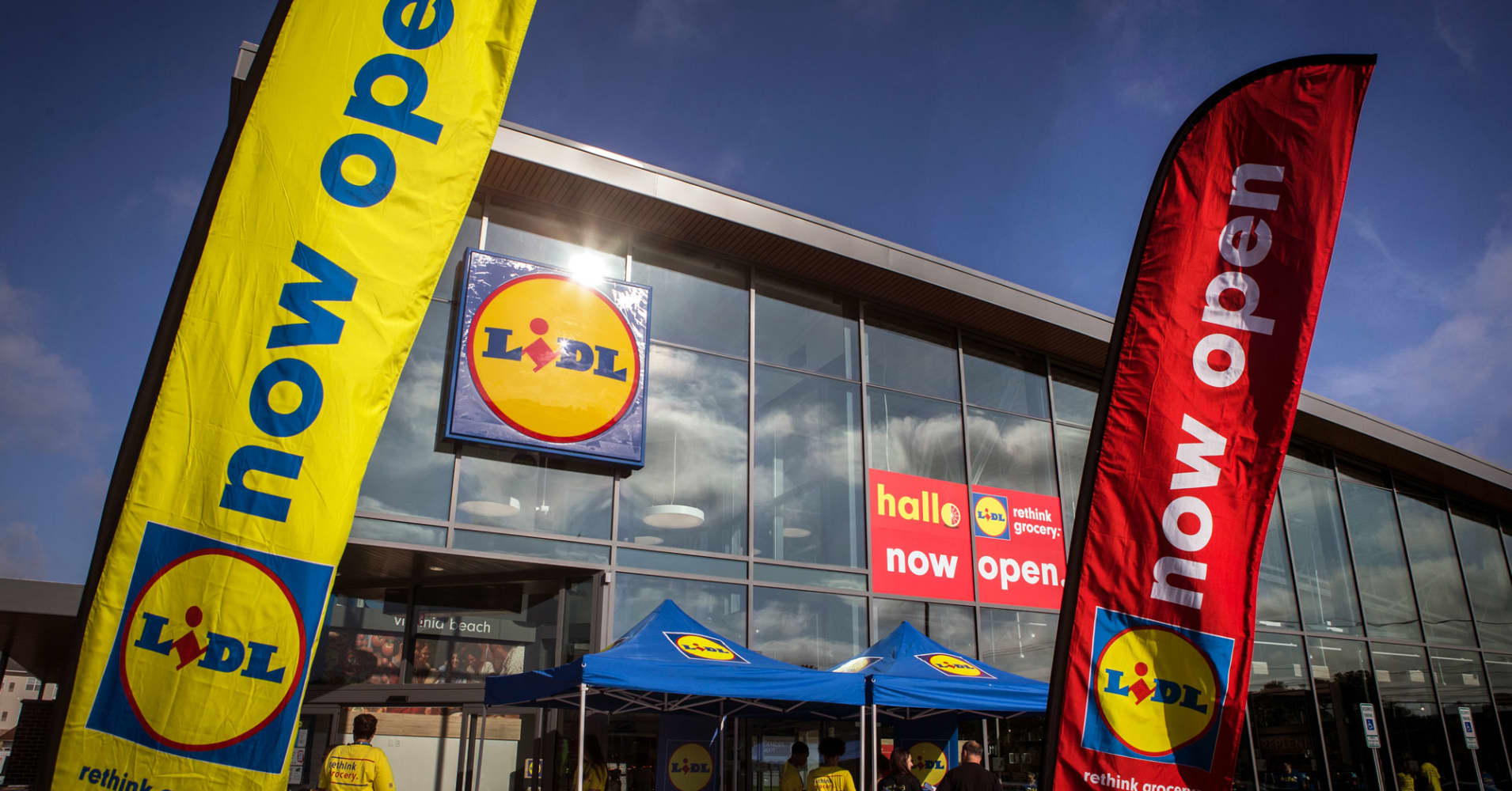 Here's when and where Lidl's next US grocery stores will open