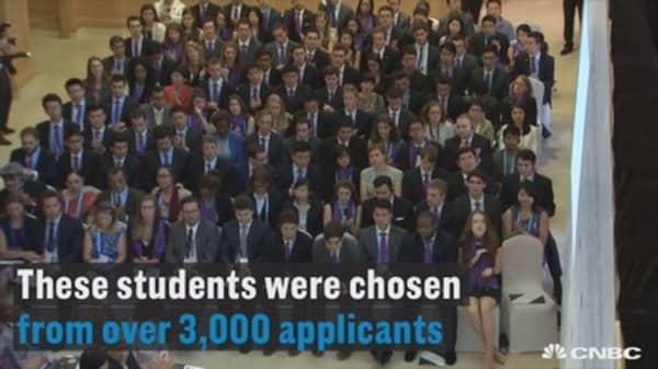 The $500 million scholarship program that may someday change the world