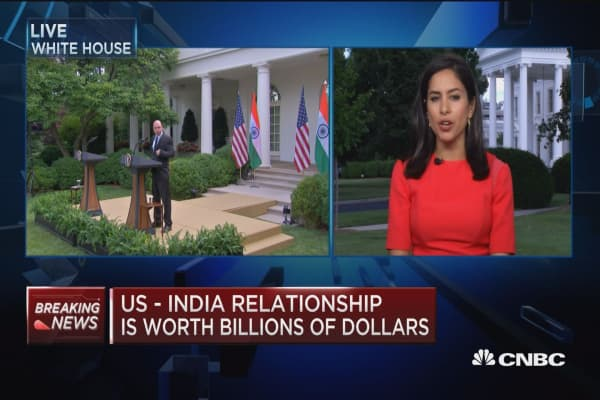 U.S.-India relationship is worth billions of dollars