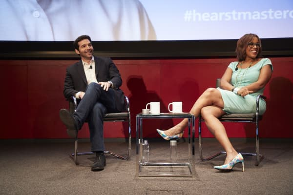 LinkedIn CEO Jeff Weiner sat down with O, The Oprah Magazine editor-at-large Gayle King at Hearst Tower.