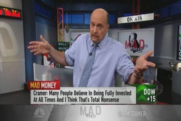 Cramer's perfect hedge for dangerously high markets