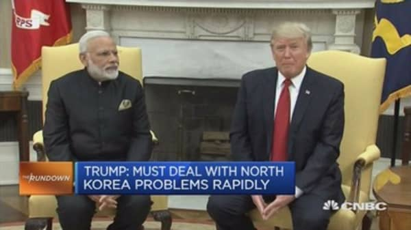Where Trump and Modi agree