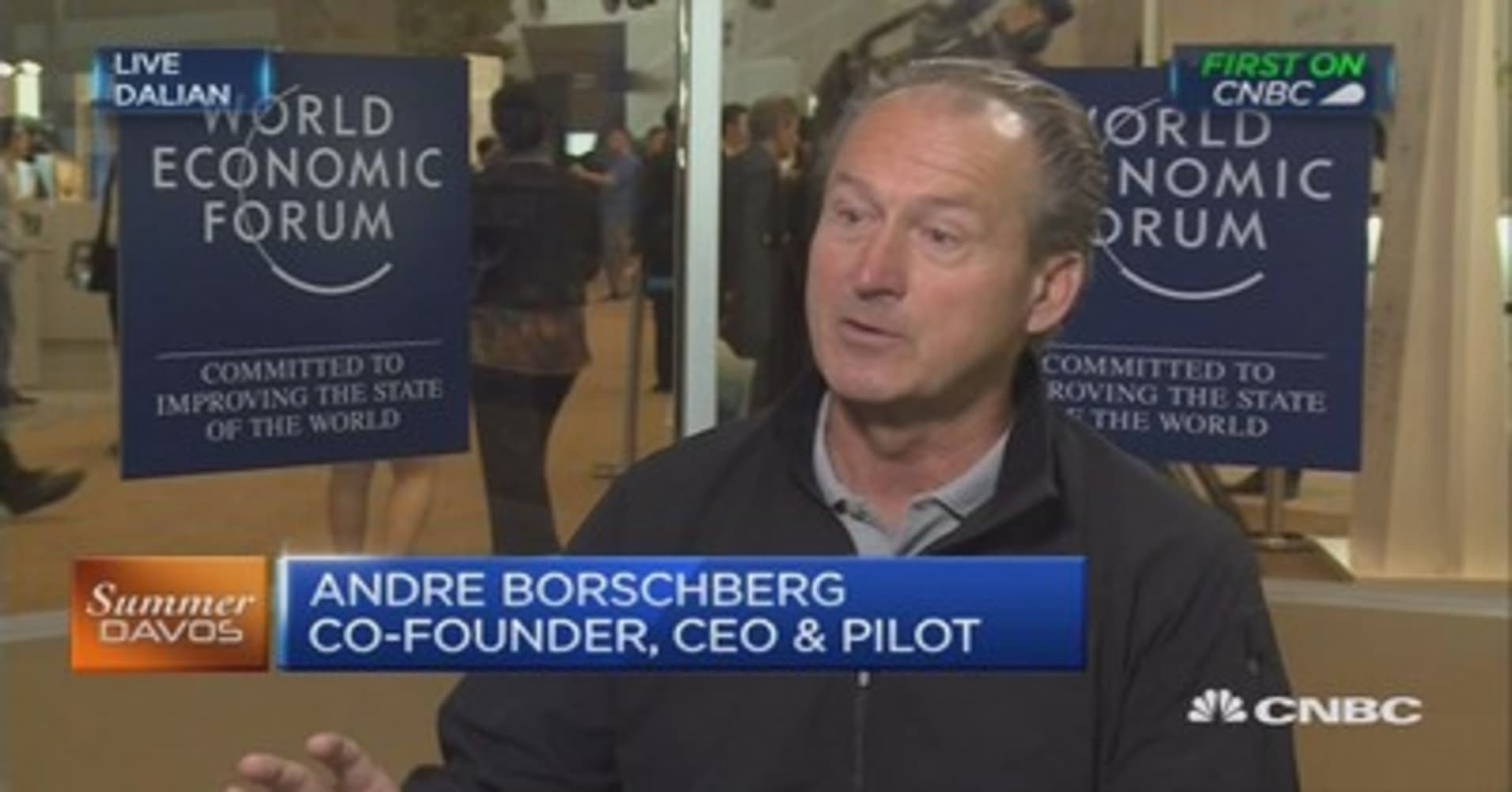 Solar Impulse CEO says this can make air transport cheaper, cleaner, quieter and safer