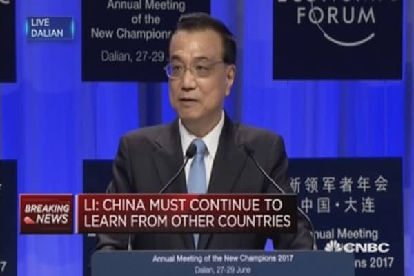 China is capable of achieving growth target, says Premier Li Keqiang