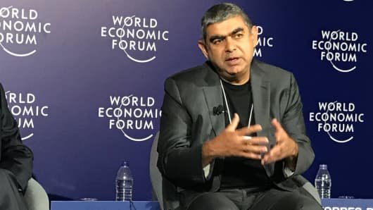 Vishal Sikka, CEO and MD of Infosys.