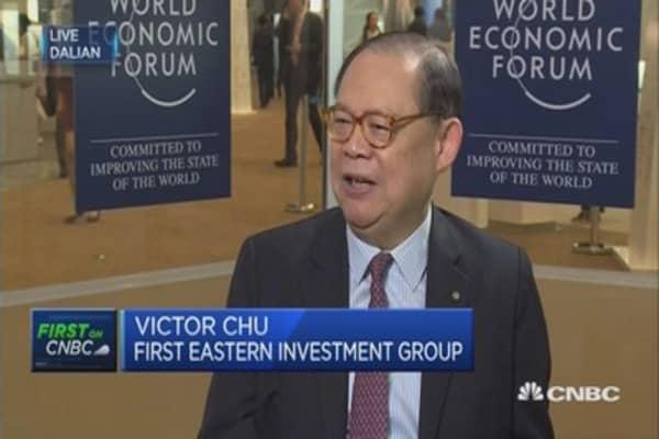 China regulatory crackdown isn't sinister: Victor Chu