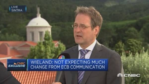 Wieland: not expecting much change from ECB communication