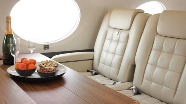Private jet paris air show
