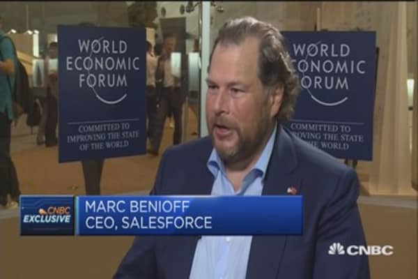 Uber will not be the only crisis of tech equality: Salesforce CEO