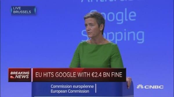 Google has abused its market dominance: EU Commissioner Vestager