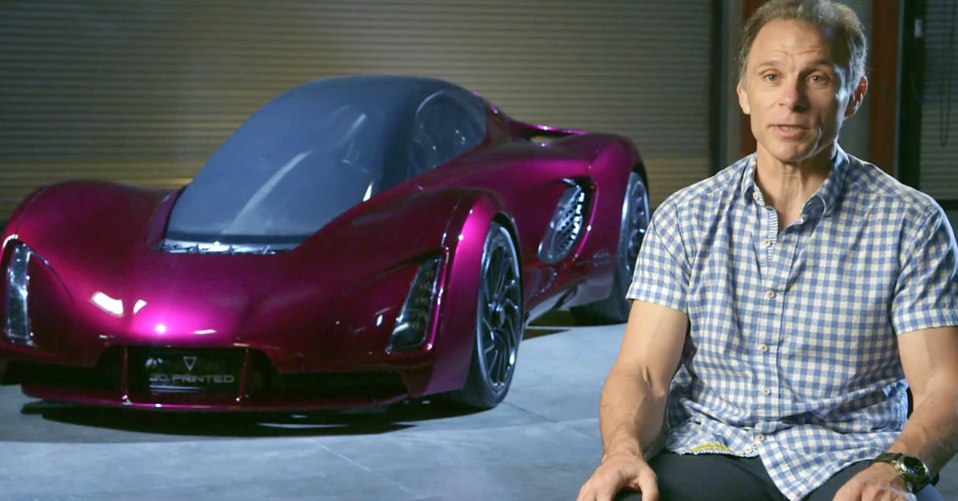 Kevin Czinger Is Making A 3d Printed Car Called The Blade