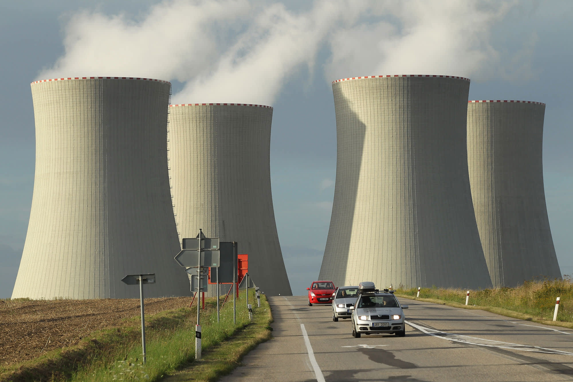Czech nuclear plant in hot water after holding bikini contest for